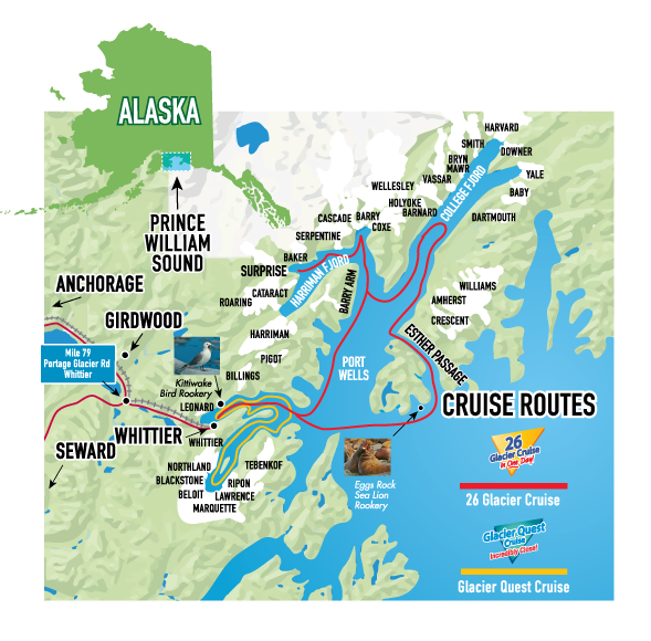 Maps About Phillips Cruises